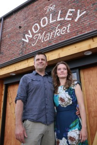 Will and Tahlia Honea—and a bushel of locals—will open the doors of The Woolley Market at the end of July, offering a blend of history and healthful foods, including local produce.