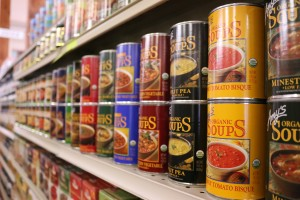 """Woolley Market shelves will carry a variety of goods, including meats, health supplements, pet foods, local clothing, fresh produce, general and bulk foods, and more. """"This is an old-school grocer with the best food we can find, for the best prices,"""" said co-founder Will Honea."""